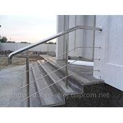 Лестницы и ограждения в Полтаве из нержавеющей стали — наши работы4