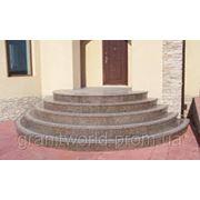 Лестницы гранитные от производителя Житомир (Образец 611) фото