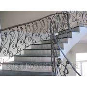 Гранитные лестницы Житомир (Образец 614) фотография