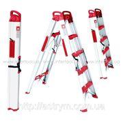 LT-5000 Лестница-стремянка раскладная трансформер 1360мм INTERTOOL фото