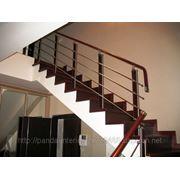 Комплектующие и ограждения для лестниц
