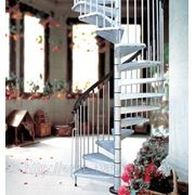 Винтовая лестница Arke Сivik ZINK для наружного использования, диаметр 140 см фото