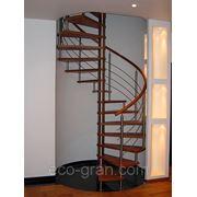Проектирование винтовых лестниц фото