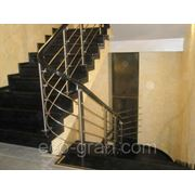 Монтаж бетонных лестниц фото