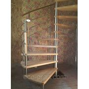 Изготовление винтовых лестниц фото