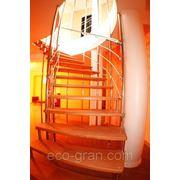 Изготовление лестницы на больцах фотография