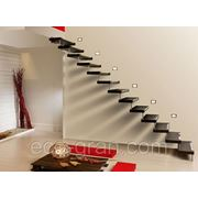 Изготовление консольных лестниц фото