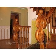 Лестницы из дерева дуб, бук, ясень в Полтаве — наши работы3