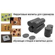 Магнит для сувениров шайба 25х25х3 мм фото
