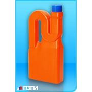 Пластиковый флакон под средства для прочистки труб Ф43 фото