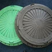 Люк смотровых колодцев полимерный тип Л (легкий)