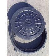 Люк пластиковый (до 2т.)черный фото