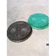 Люк ПЭ для колодцев (1,5) черный, зеленый