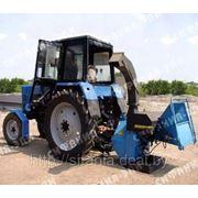 Дереводробильная машина с приводом от трактора