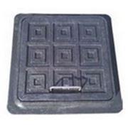 Люк канализационный пластиковый 500х500 квадратный