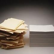 Бумага газетная, бумага для печати, бумага упаковочная, бумага упаковочная для продуктов. фото