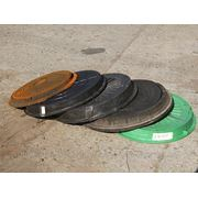Канализационные пластиковые легкие люки (до 1,5 тн) фото