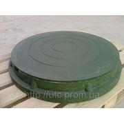 Люк канализационный полимерно-песчанный средний (тип С) 15т фото