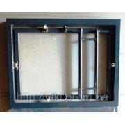 Потайной люк невидимка под плитку 400х400 мм (сдвижной) фото