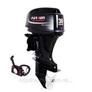 Двухтактный лодочный мотор Парсун T30FWS с дистанционным управлением фото