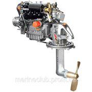 Стационарный лодочный мотор Lombardini LDW 1404 SD c приводом SailDrive (40 л.с.) фото