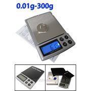 Портативные весы до 300 гр. точность 0.01 фото
