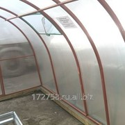 Теплица Усадьба 8х3х2,1 (каркас без полик.) фото
