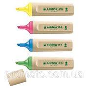 Эко-маркер для выделения текста Edding E24 фото