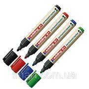 Эко-маркер перманентный нестираемый Edding E21 фото