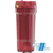Корпус для горячей воды красный фото