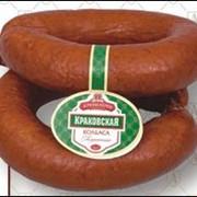 Колбаса полукопченая Краковская фото
