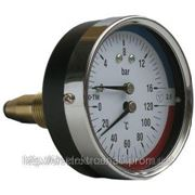 Термоманометры осевые МТ-80-ТМ-О фото