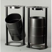 Большие урны для мусора Премиум 80л