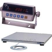 Весы платформенные Hercules 1000 1,2х1,2м 1т/0,2кг фото
