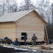 Дом из бруса 100*150мм размером 6*4м фото