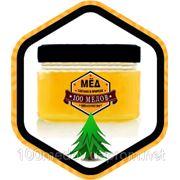 Мёд для тела с хвойными маслами 0,5 л - медовый массаж, обертывание, медовый скраб, для похудения, для сауны