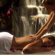 Общий массаж всего тела