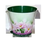 Горшок для цветов из пластика Крит Хризантемы фото