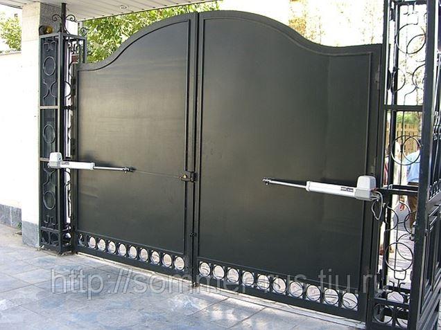 автоматика для ворот установка в баксане