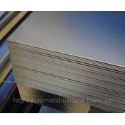 Лист н/ж 304 1,0 (1,25х2,5) 4N+PVC фото