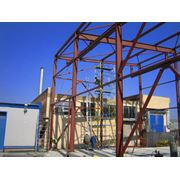 Монтаж металлических стальных железобетонных строительных конструкций подготовительные работы кровельные работы Донецк фото