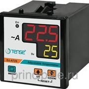 Амперметр с релейным выходом мин/макс значений тока напряжения электронный щитовой панельный 72х72 мм фото