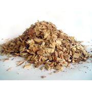 Щепа древесная (ольховая) для коптилен фракция 6 - 8 мм. фото