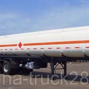 Полуприцеп цистерна бензовоз CIMC ZJV9341, объем бочки 25 м3 фото