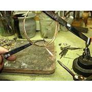 Пайка золотых серебрянных цепочек других ювелирных изделий фото