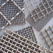Сетка алюминиевая тканая фото