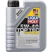 НС-синтетическое моторное масло Liqui Moly Top Tec 4100 5W-40 1л фото