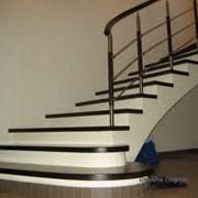 Монтаж лестниц, ограждения фото