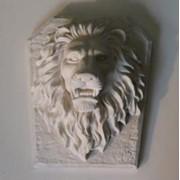 Барельеф «Замковый Лев» малый фото