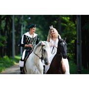 Романтические прогулки на лошадях по городу (дневному и НОЧНОМУ) фото